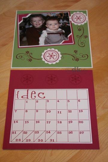 Calendar ClassDecember